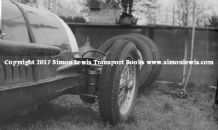 Alfa Romeo 8C-35 Hans Reusch's car Crystal Palace 1938 (front suspension)